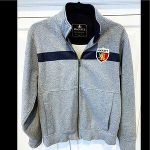 Hackett London men full zip sweatshirt